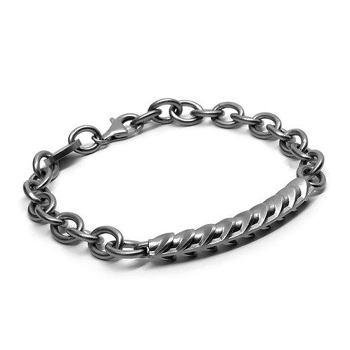 CORE Chain Bracelet / Gun Metal