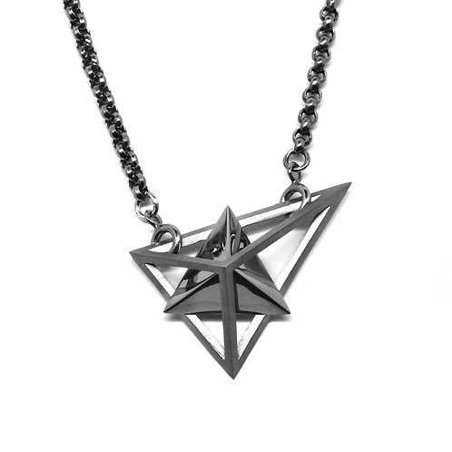 BERMUDEZ Necklace / Gun Metal