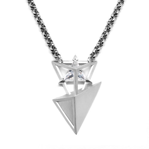 Treasure BERMUDEZ Necklace / White Gold
