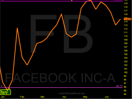 FB Yearly Pivots in 2016
