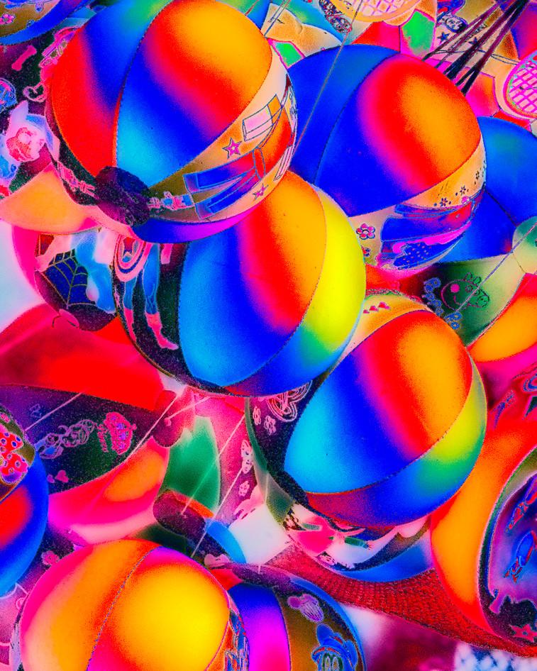 Colourful balls