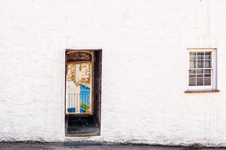 Through the door in the wall
