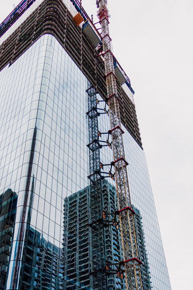 High Rise reflection, Calgary, Alberta