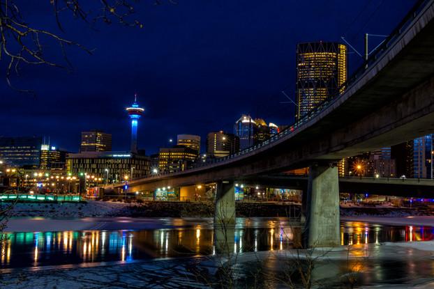 Calgary Dawn, Alberta, Canada