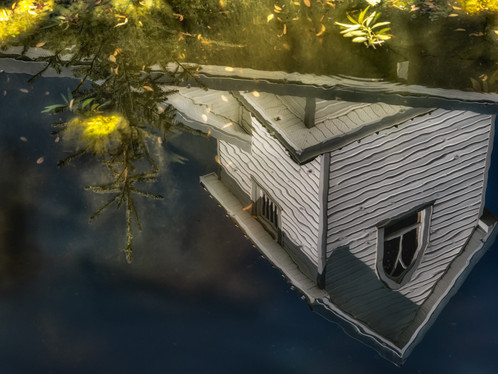 The house in the lake