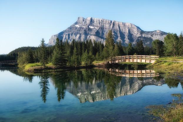 Cascade Ponds, Banff, Alberta, Canada