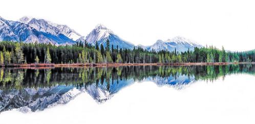 Spillway Lake, Kananaskis Country, Alberta, Canada