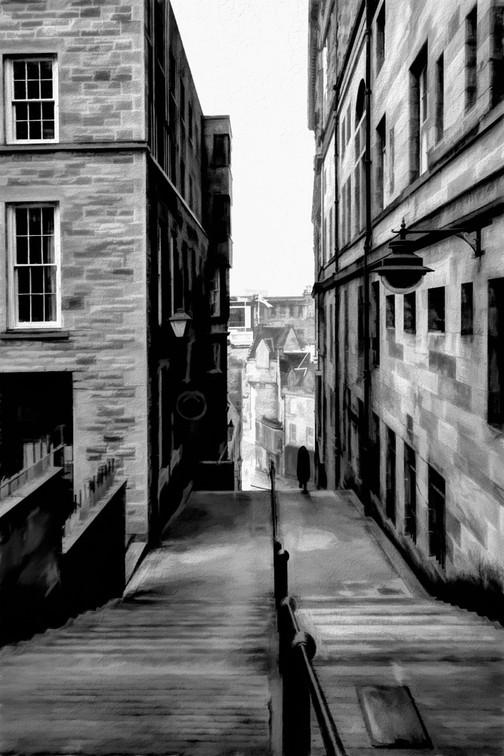 Edinburgh alleyway