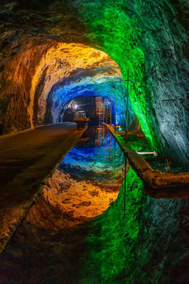 Nemocon, Colombia salt mine