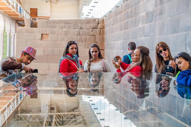 Tourist reflection