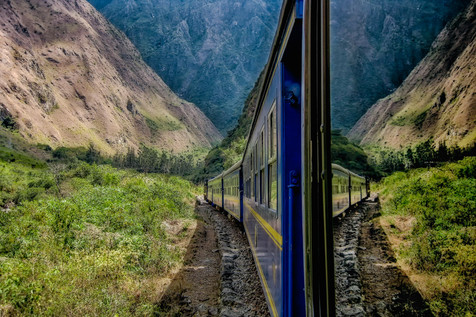 Train to MachuPicchu, Peru