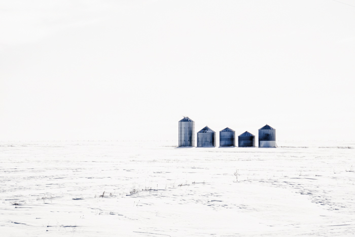 Silos on the Prairies