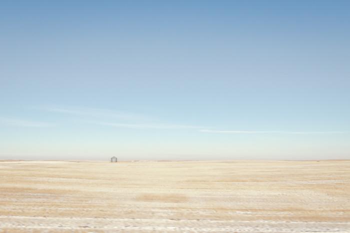 Hut on the Prairies