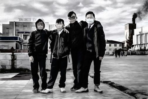 Four Boys