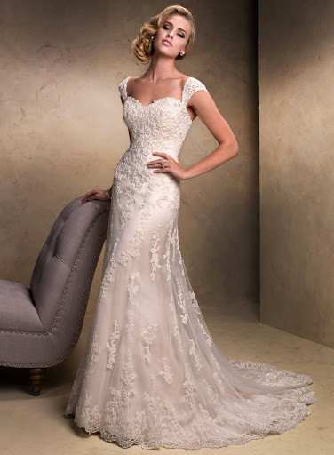 Emma with Cap Sleeves - Maggie sottero