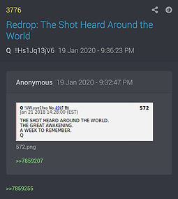 Q Returns after 21 days of silence 1-20-