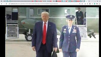JFK marine one carolyn is uniform with T