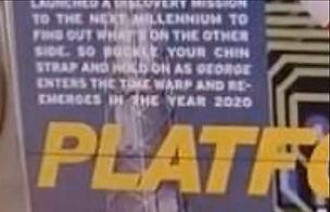 Platform 2020 close up words on poster.j