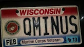Field McConnell Q Minus license plate.we