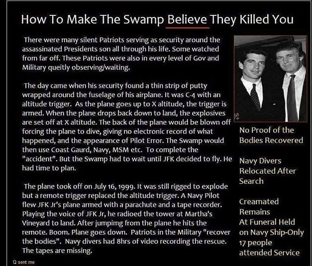 How to make the swamp believe they kille