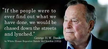 HW Bush If the people find out.jpeg