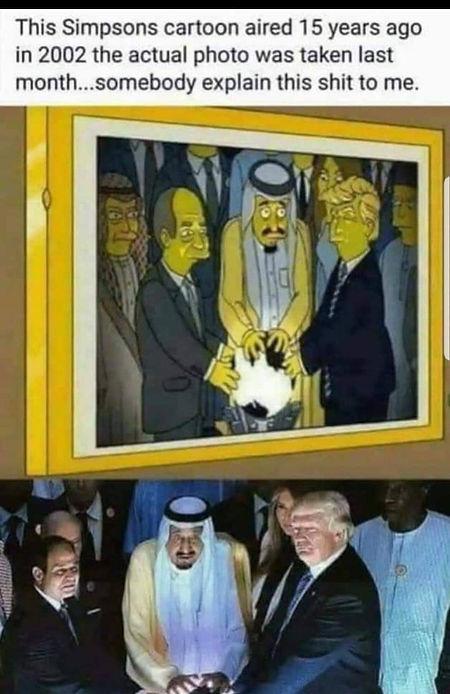 Trump Saudis with the light Simpsons.jpe