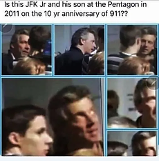 JFK and his son 2011 10 year anniv 911 P