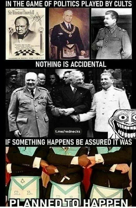 nothing is accidental all wars are plann