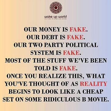 Everything is fake  You are watching a m