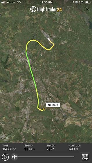 N529JK flight pattern 2.png