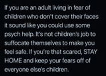 keep your fear away from our children.jpg