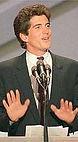 JFK Jr Hands Up Democratic Convention.jp