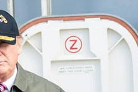z on the door donald trump salute.jpg