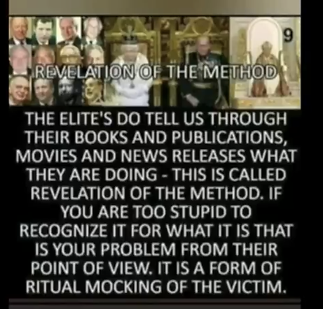 revelation of the method they have to te