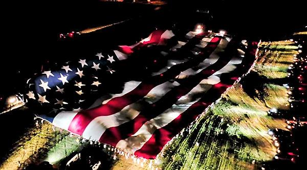 American Flag South Dakota Sturgis 7-4-2