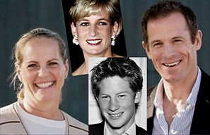 Prince Harry and Diana the replacement.j