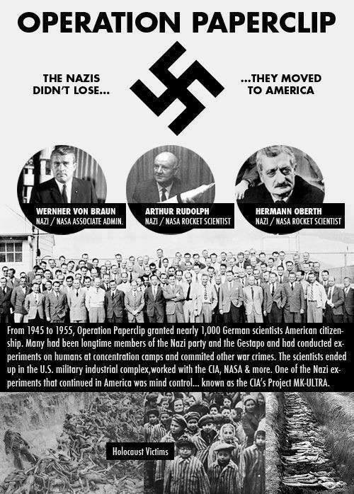 the nazis didnt lose operation paperclip