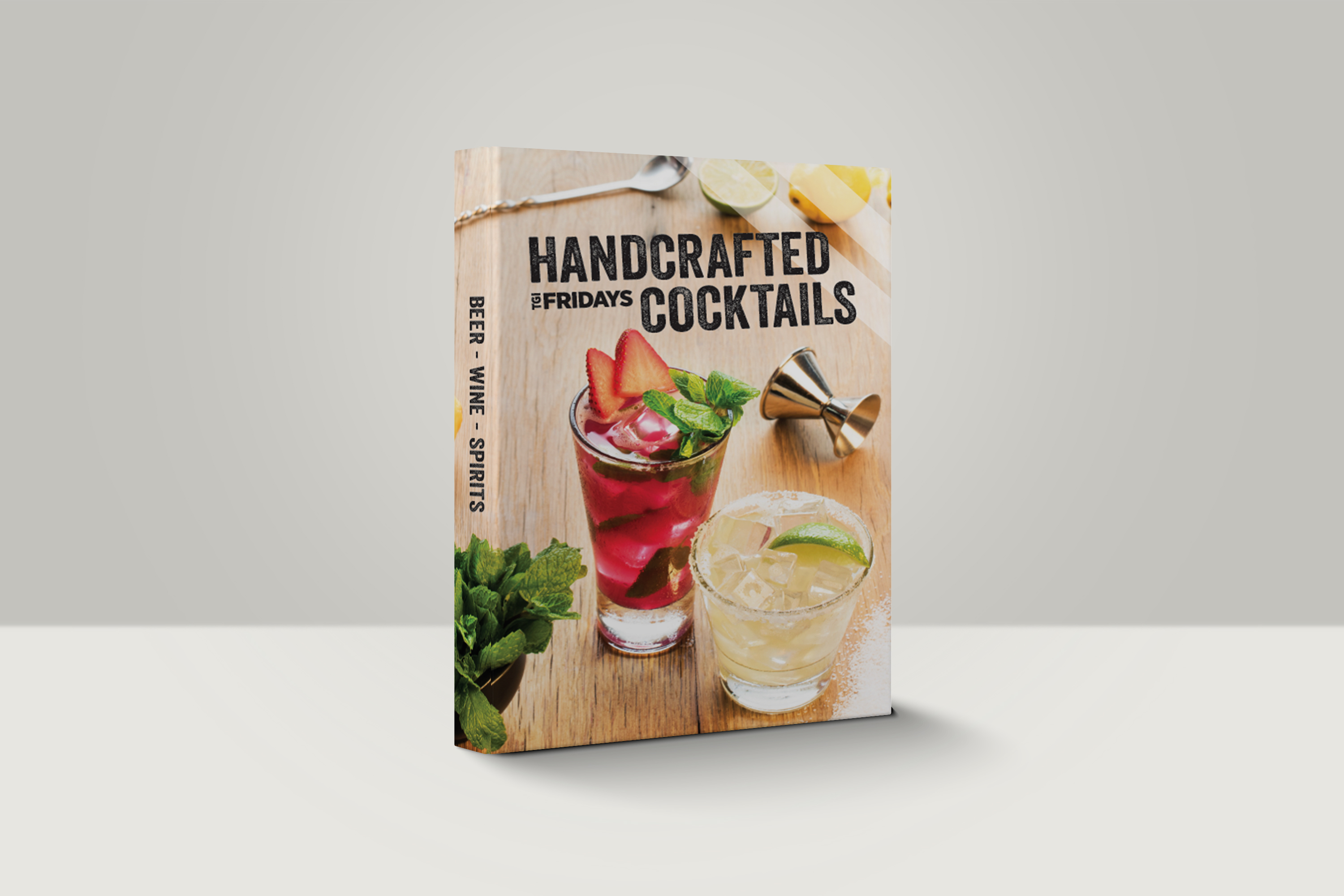 Beverage Menu Binder