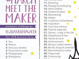 March Meet the Maker Week 1