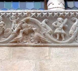 Frieze - Church of the Annunziata - Sulmona