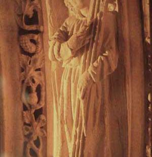 chorus (15th century, cathedral of St. Pierre de Saintes, France