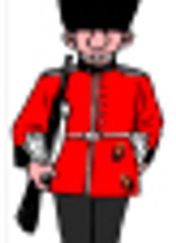 La gale a frappé la Garde Royale Britannique