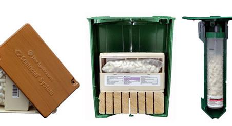 Contre les termites souterrains : les pièges et appâts, procédé SUBLIMM-OI & Sentri-tech.