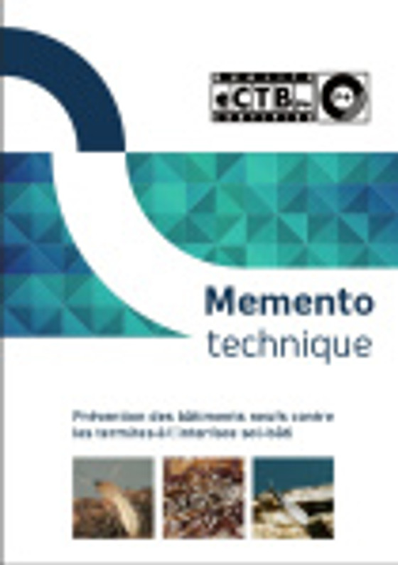 Réglementation traitement anti-termites interface sol bâti