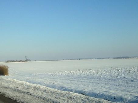La Vienne sous un manteau de neige.
