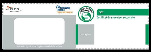 Certificat sauveteur secouriste du travail