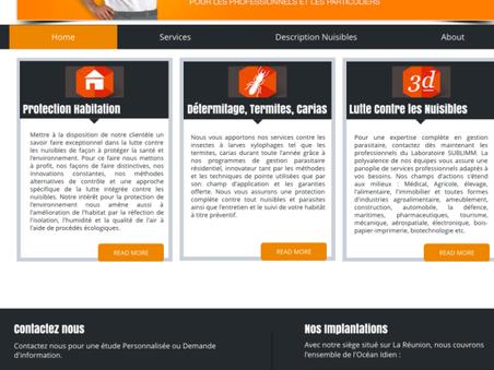 Nouveau Site internet SUBLIMM