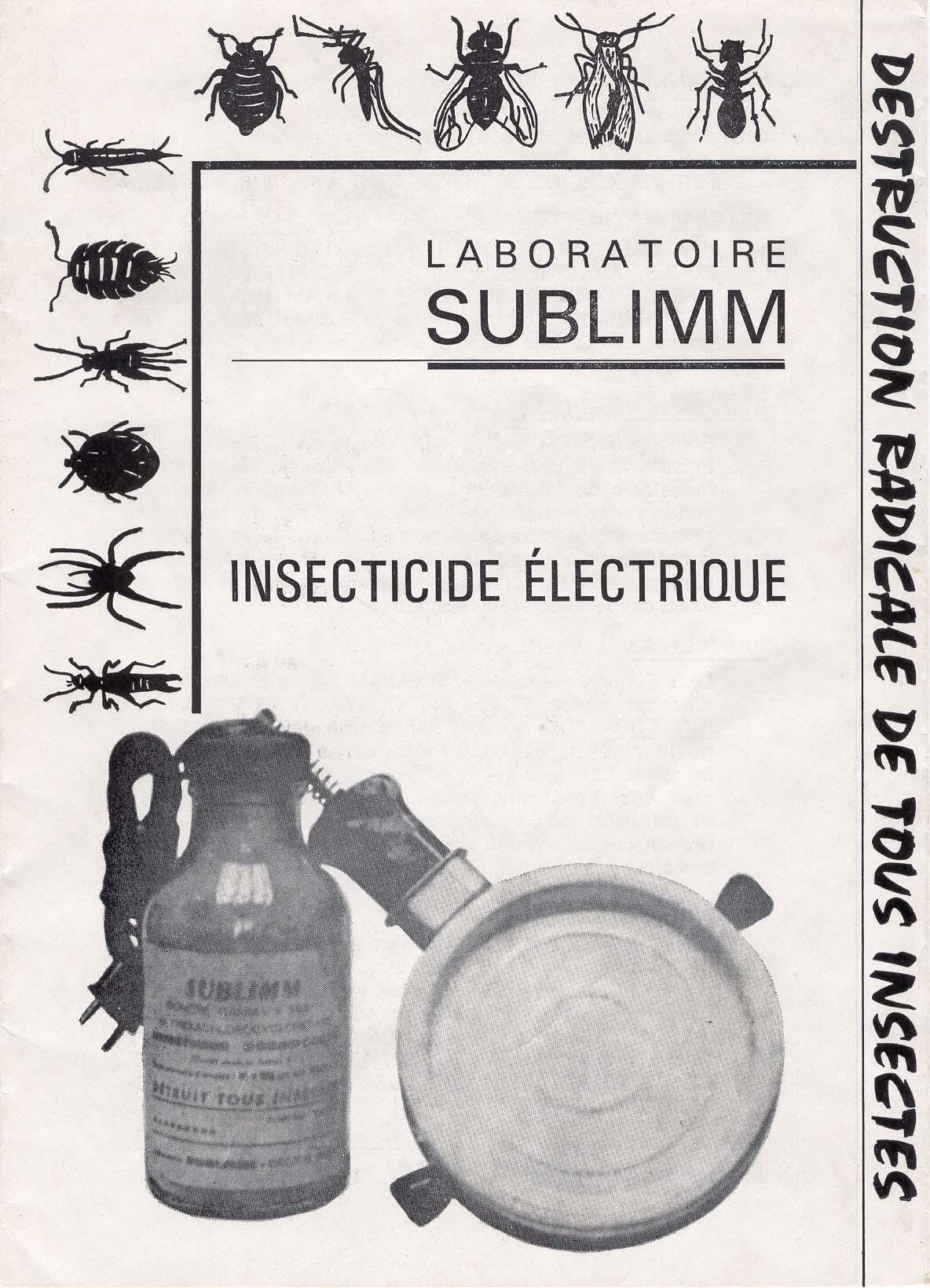 Insecticide électrique