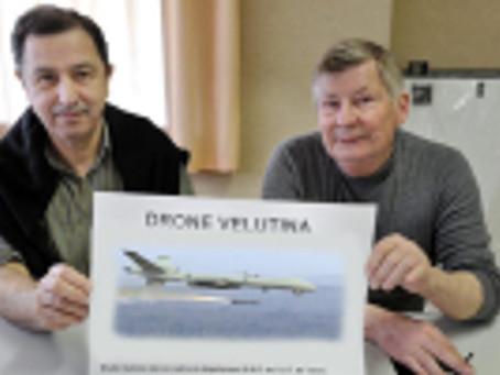 Un Drone contre les Frelons Asiatiques