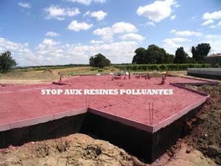Les résines en guise de traitement préventif termites avant construction : STOP